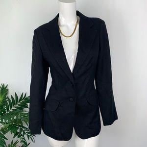 HENRI Black taylor Blazer Jacket